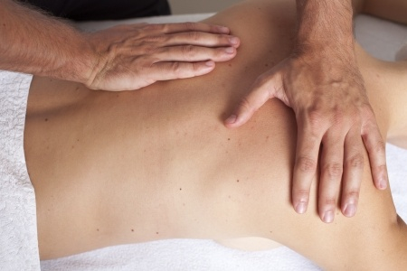Osteophatic consultation and treatment